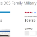 Two military discounts for Microsoft 365