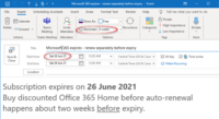 Simple way to save money on Microsoft 365 renewal – use Outlook 200x109 - Office Watch Microsoft Outlook Word Excel Powerpoint Access Teams Onenote