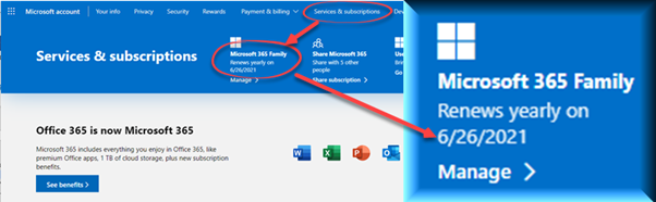 What's my Microsoft 365 expiry date 1 - What's my Microsoft 365 expiry date?