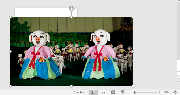 image 1 - Pan across a still image in PowerPoint – Ken Burns effect part 2