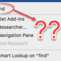 'Tell me' help now in Mac Office 365 with the same limitations