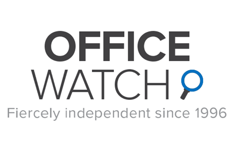 Office Watch logo with tag 473x296