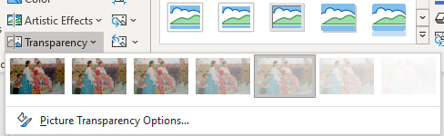 PowerPoint's 'Zoom out' animation option 1 - PowerPoint's 'Zoom out' animation option