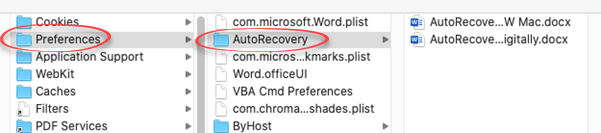 Recovering lost Word for Mac documents 2 - Recovering lost Word for Mac documents