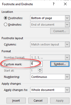Section Symbol in Word Excel PowerPoint and Outlook - Section Symbol § in Word, Excel, PowerPoint and Outlook