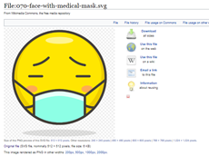 image 4 - Face mask graphics for Word and PowerPoint