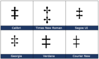 Double Dagger ‡ symbol in Word, Excel, PowerPoint and Outlook