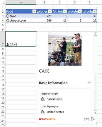 Excel gets Cake 4 - Excel eats Cake