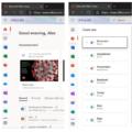 Microsoft 365 web page update