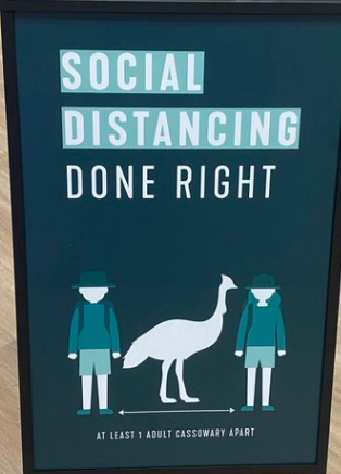 More ideas for social distancing signs 3 - More ideas for social distancing signs