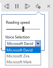 Read Aloud in Word 365 and 2019 in depth 3 - Read Aloud in Word 365 and 2019 in depth