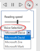 Read Aloud in Word 365 and 2019 in depth 9 - Read Aloud in Word 365 and 2019 in depth