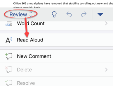 image 53 387x296 - Read Aloud a doc in Word for iPhone or iPad