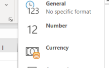 Excel's General problem that messes up what you type