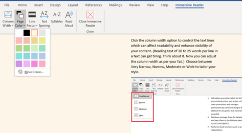 image 3 473x260 - Immersive Reader in Word for Windows, Mac and iPad
