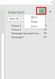 image 41 - See more with Selection Pane in Excel, PowerPoint and Word