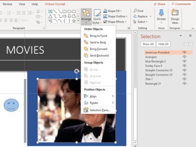 image 46 394x296 - See more with Selection Pane in Excel, PowerPoint and Word