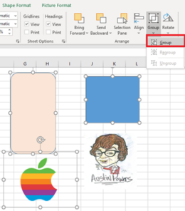 image 47 260x296 - See more with Selection Pane in Excel, PowerPoint and Word