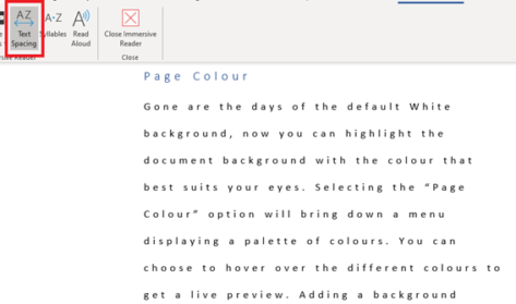 image 6 473x279 - Immersive Reader in Word for Windows, Mac and iPad