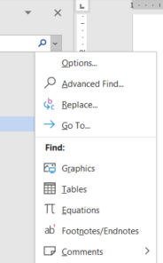 image 72 184x296 - Find pane search secrets in Word