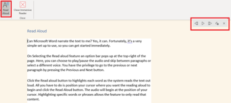image 8 473x211 - Immersive Reader in Word for Windows, Mac and iPad