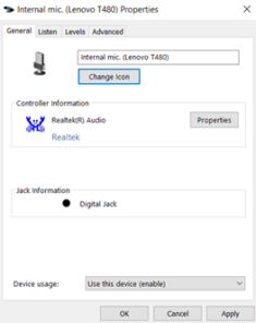 image 109 235x296 - Microphone setup and settings for Dictate and Windows 10