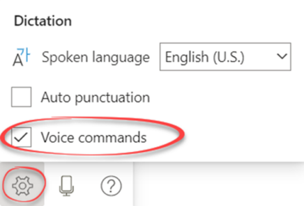 image 112 436x296 - Format text with Dictate voice commands in Word
