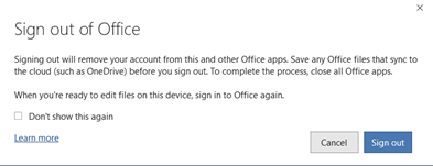 image 150 - Customer login now required to use Microsoft 365 apps