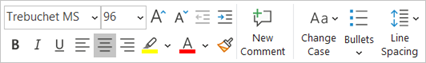 image 164 - PowerPoint mini-toolbar expands with adaptive extras