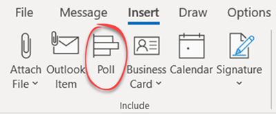 image 9 - Easy and Quick Polls in Outlook