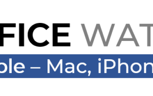 Office Watch for Apple logo 300x188 - Office Watch Microsoft Outlook Word Excel Powerpoint Access Teams Onenote