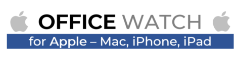 Office Watch for Apple logo 473x120 - Office 365 for Mac has major change coming