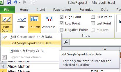 image 75 - 8 tips for great Excel Sparklines