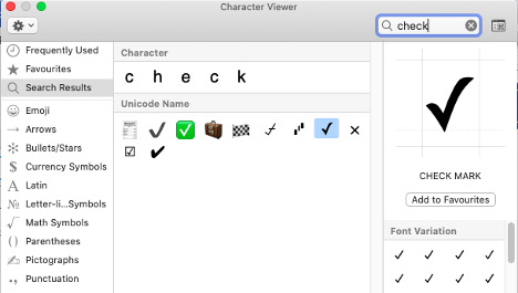 image 90 - Type a Checkmark or tick ✓ in Word, Excel, PowerPoint and Outlook