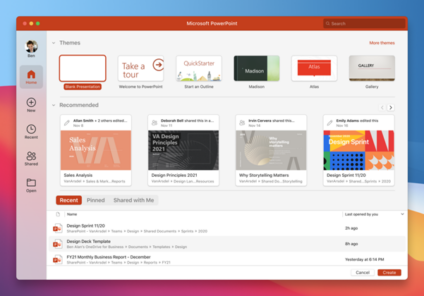 image 92 424x296 - New look in Microsoft 365 for Mac coming in early 2021