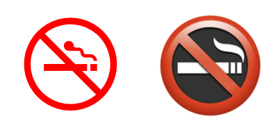image 1 - 8 simple 'Prohibited' symbols for smoking, phones, kids and more in Word