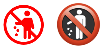 image 4 - 8 simple 'Prohibited' symbols for smoking, phones, kids and more in Word