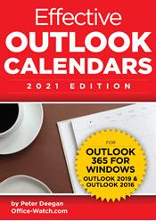 Effective Outlook Calendars