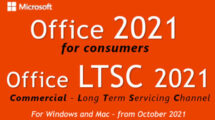 Office 2021 - LTSC - sign