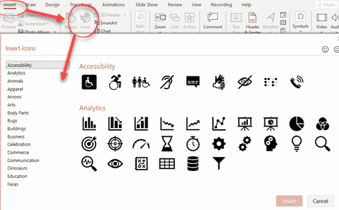300 more Icons in Office, but which ones and where? - Office