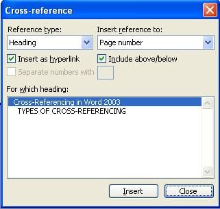 797 Cross Referencing in Word 2 - Cross Referencing in Word