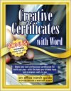 CCWcover 100x129 - Creative Certificates with Word