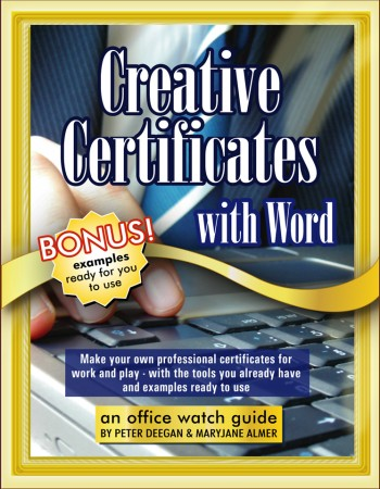Creative Certificates with Word