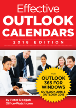 Effective Outlook Calendars 3rd edition