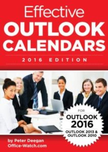 Effective Outlook Calendars