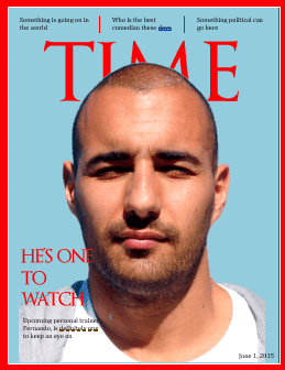 Magazine cover - Make your own 'Time' magazine cover