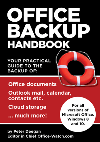 OB6 cover 324 - Office BACKUP Handbook - out now!