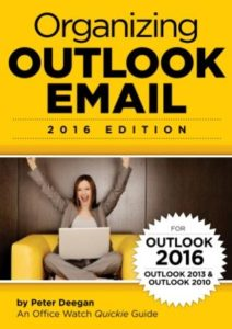 Organizing Outlook Email