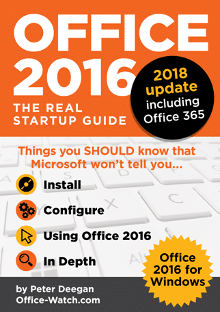 Office2016 322 Jan2018 - Office Watch Microsoft Outlook Word Excel Powerpoint Access Teams Onenote
