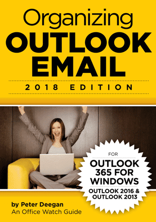 Organizing Outlook Email 4th OO3.jpg - Outlook 365/2019 - three ebooks - special offer